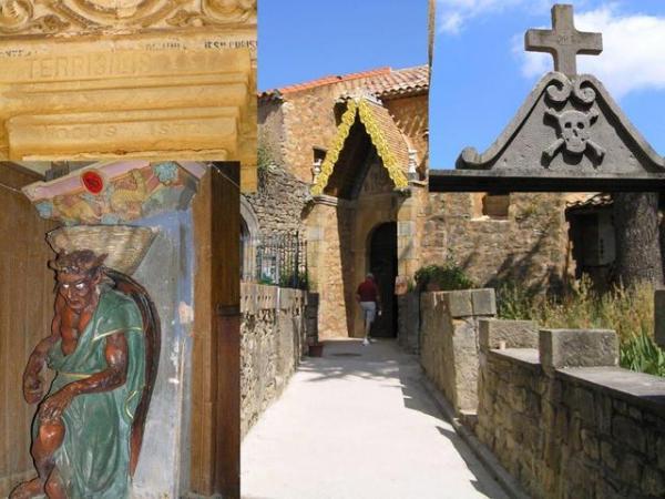 """Bérenger Saunière's church - """"TERRIBILIS EST LOCUS ISTE"""""""